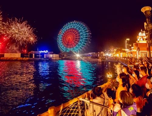 新春大型焰火秀每日上演!来三亚潮玩地,日夜狂欢!